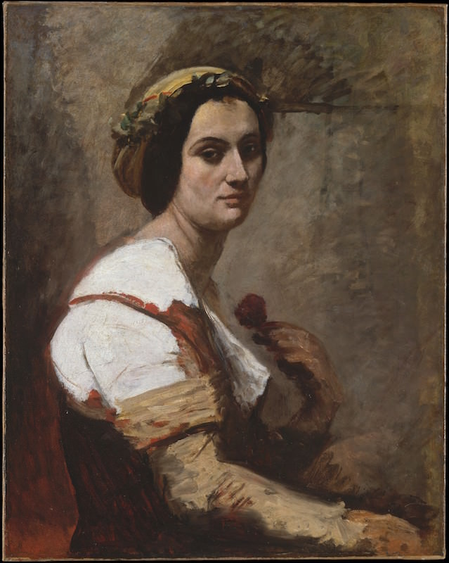 Camille Corot, Sibylle, ca. 1870. Oil on canvas, 32 1/4 x 25 1/2 in. H. O. Havemeyer Collection, Bequest of Mrs. H. O. Havemeyer, 1929. The Metropolitan Museum of Art.