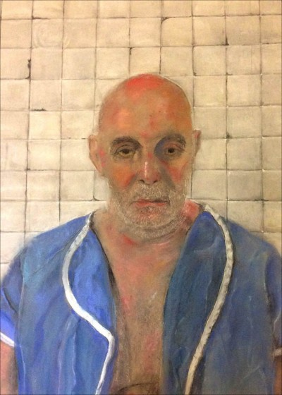 Joseph Feury, Lost. Pastel on paper, 27 x 20 in.