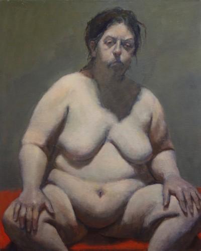 Painting by Jayne Greenwald