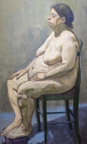 Painting by Clarissa Payne Uvegi