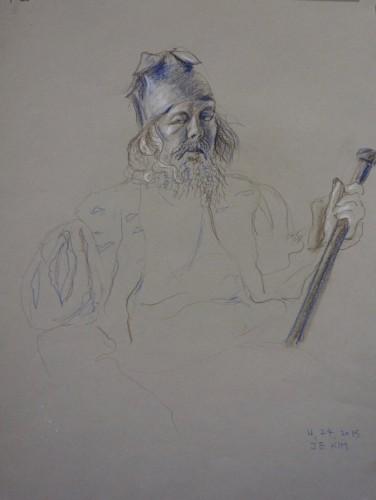 Drawing by Jung Eun Kin