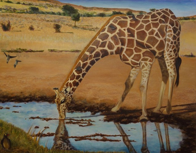 Painting by Nicole Lau