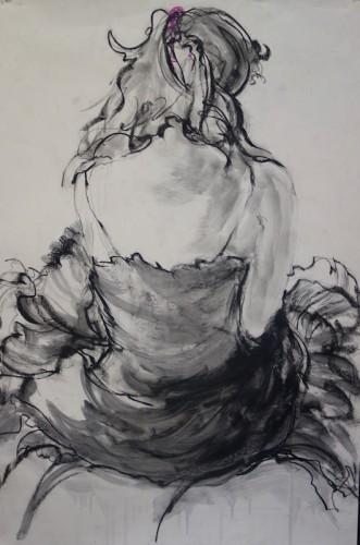 Drawing by Mary Jo Anzel