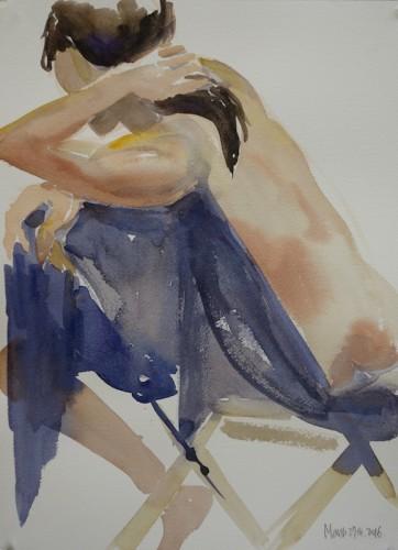 Painting by Jung Eun Kim
