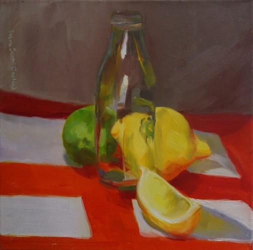 Painting by Debra Garland