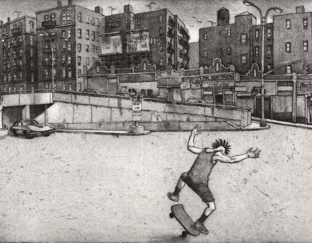 King of the Street - Etching - 300dpi (1)