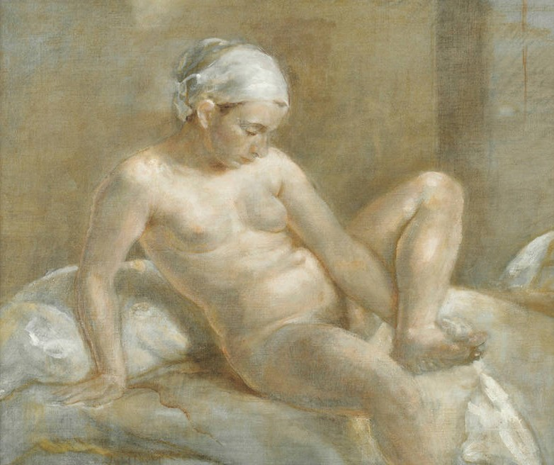National Academy of Design Isabel Bishop, Nude Study, 1934. Oil on canvas, 15 x 18 in. National Academy Museum, New York