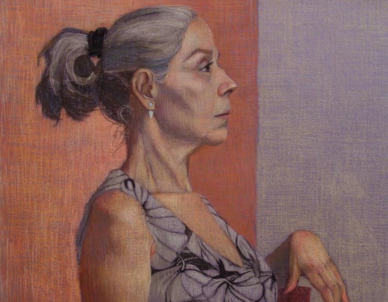 Painting by Elizabeth Latella