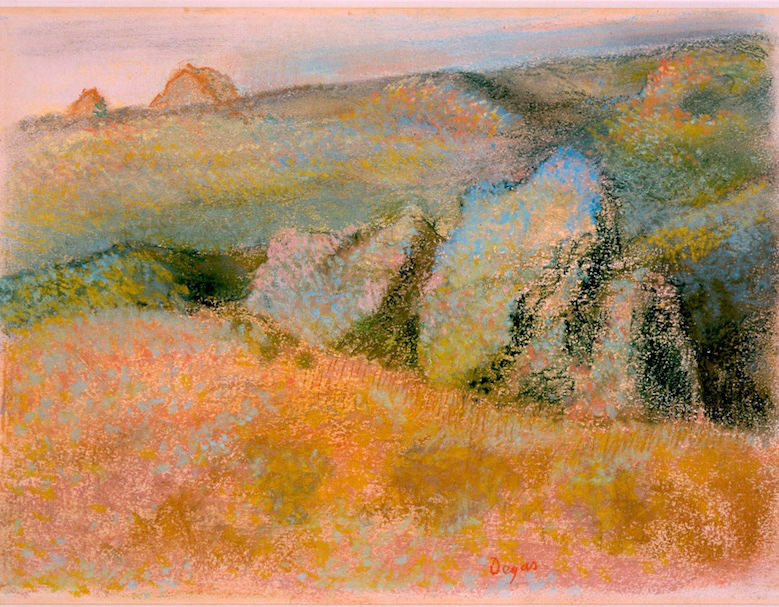 Landscape_with_Rocks_by_Edgar_Degas,_pastel_over_monotype,_High_Museum_of_Art (1)