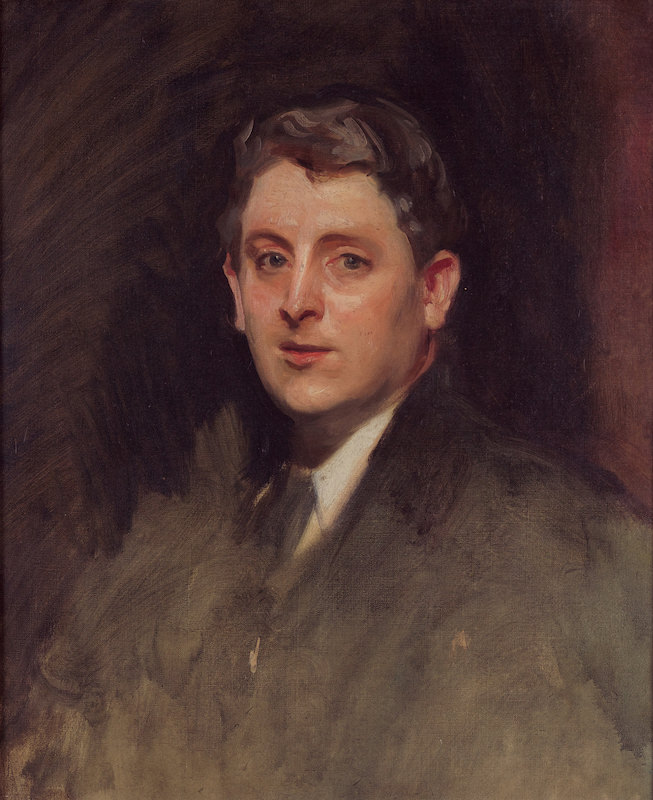 John Singer Sargent, Portrait of J. Alden Weir, 1890. Oil on canvas, 25 1/2 x 21 1/2 in. Private collection Photo by Harrison Judd