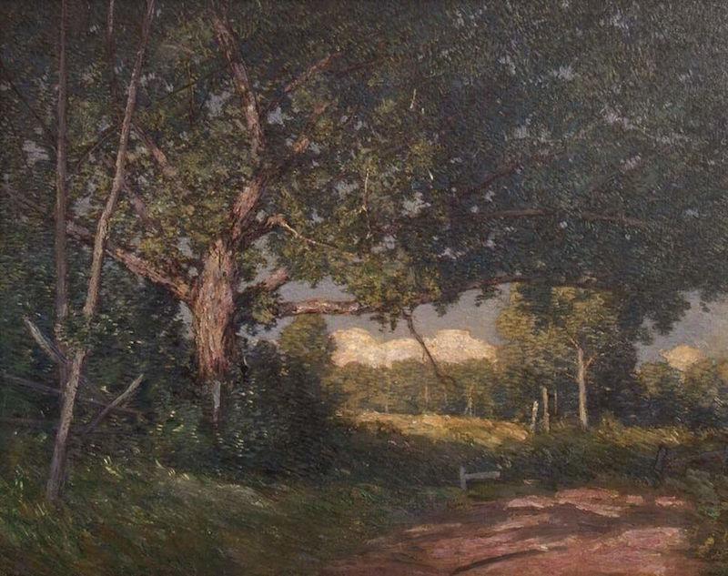 J. Alden Weir, The Spreading Oak,