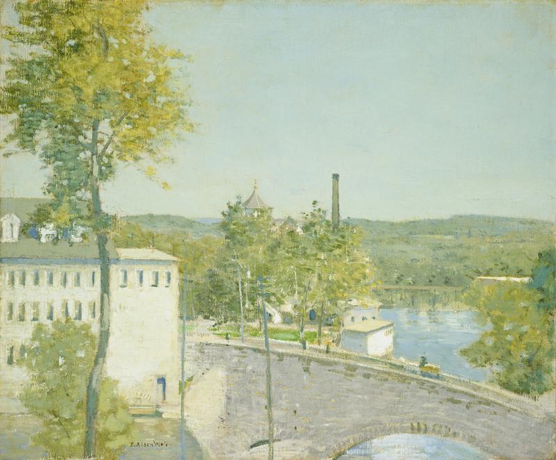 J. Alden Weiss review Lyman Allen Museum