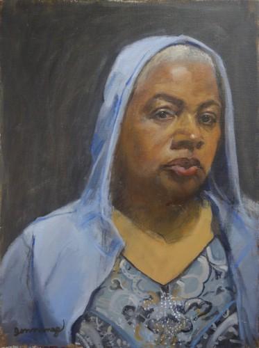 Pamela Jennings, Self-Portrait #5