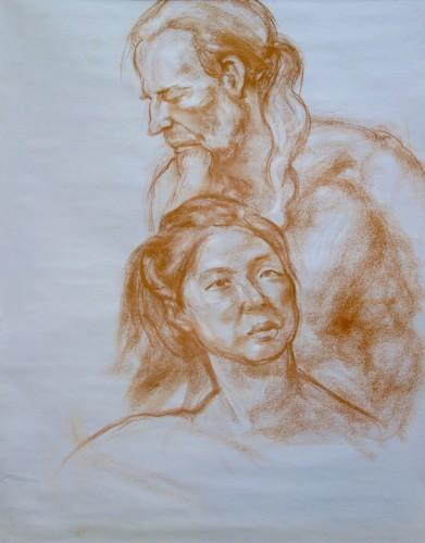 Antoinette Procacci, Head Studies