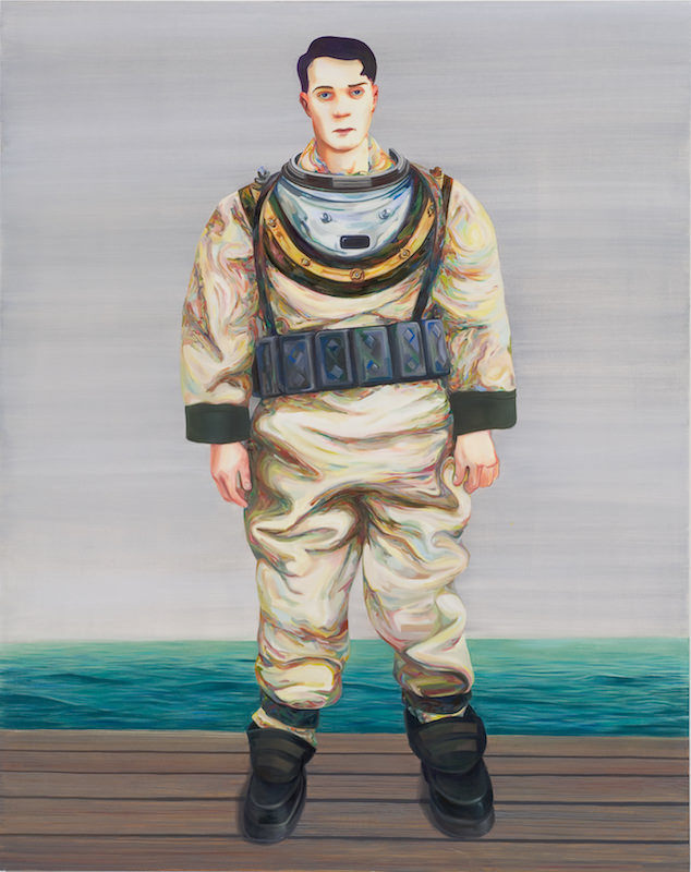 Nicole Eisenman New Museum Nicole Eisenman, Deep Sea Diver, 2007. Oil on canvas, 82 x 65 in.