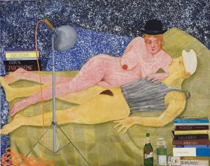Nicole Eisenman New Museum Nicole Eisenman, Night Studio, 2009. Oil on canvas, 65 x 82 in.