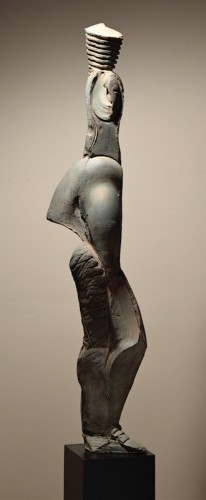 Marilyn J Friedman - Terra Cotta Figure I