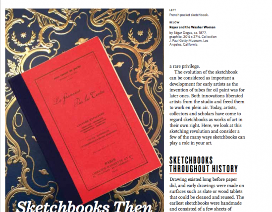 Sherry Camhy on Sketchbooks