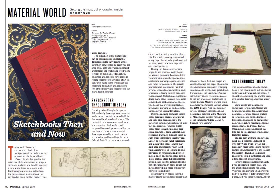 Sherry Camhy sketchbooks