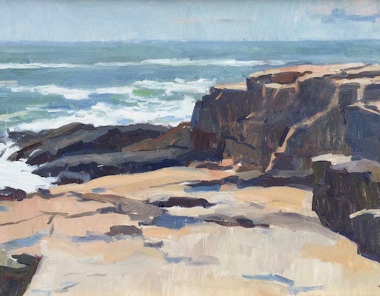 Jerry Weiss in <i>Contemporary American Marine Art</i>