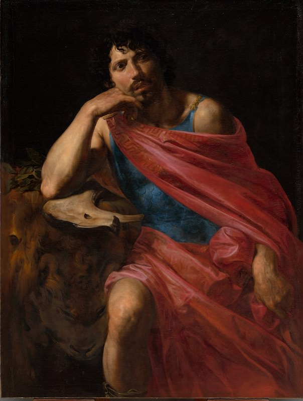 Valentin de Boulogne, Samson, 1631. Oil on canvas, 53 3/8 x 40 1/2 in. The Cleveland Museum of Art, Mr. and Mrs. William H. Marlatt Fund
