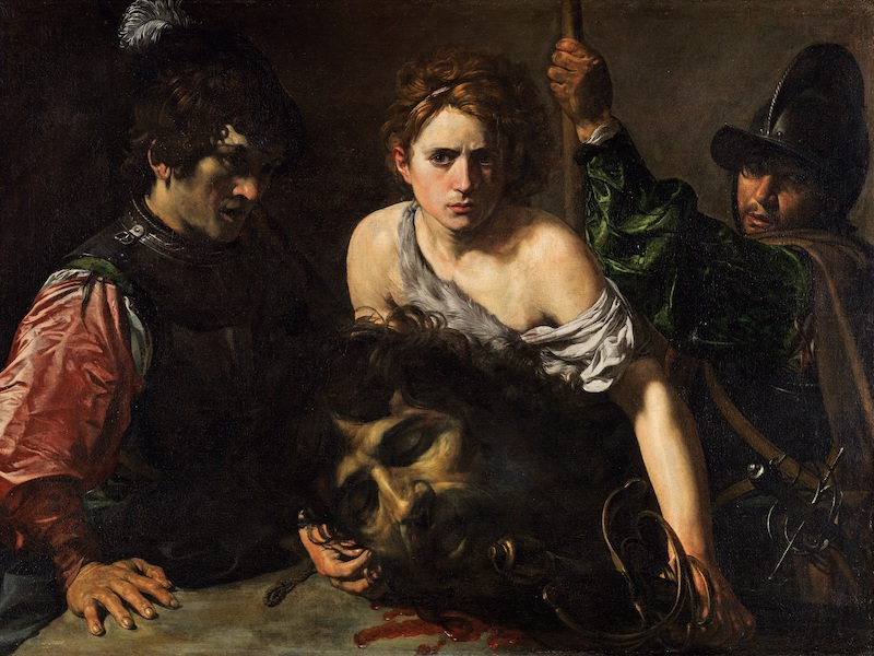 Valentin de Boulogne, David with the Head of Goliath, 1615–16. Oil on canvas, 39 x 52 3⁄4 in. Museo Thyssen-Bornemisza, Madrid