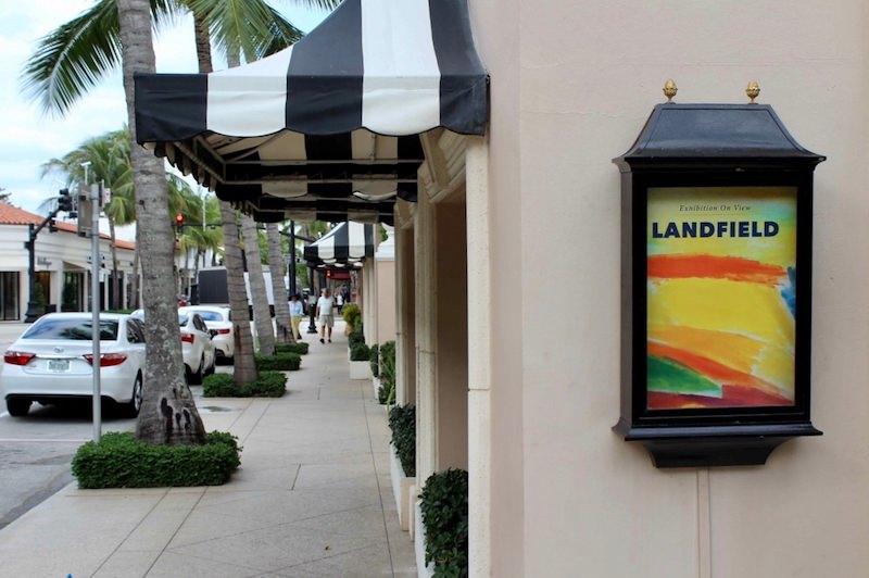Ronnie Landfield at Findlay Galleries, Palm Beach