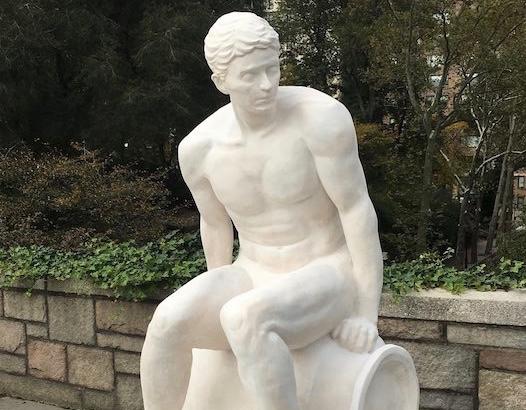 Yasumitsu Morito Sculpture at Carl Schurz Park