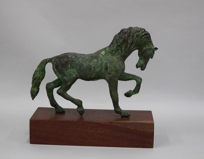 stanner_horse-iii_2012_bronze-verdigris-patina_9-5h-x-11-x-3-1
