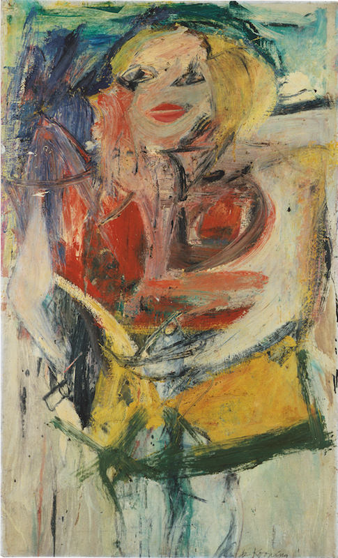 Willem de Kooning, Marilyn Monroe, 1954, oil on canvas, 50 x 30 in. Collection of Neuberger Museum of Art, Purchase College, State University of New York, Gift of Roy R. Neuberger, 1971.02.06 ©2016 The Willem de Kooning Foundation / Artists Rights Society (ARS), New York Photo: Jim Frank Courtesy American Federation of Arts