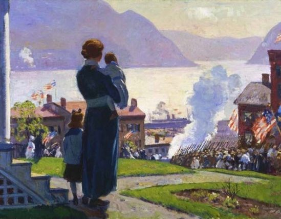 A Gifford Beal Painting Rediscovered