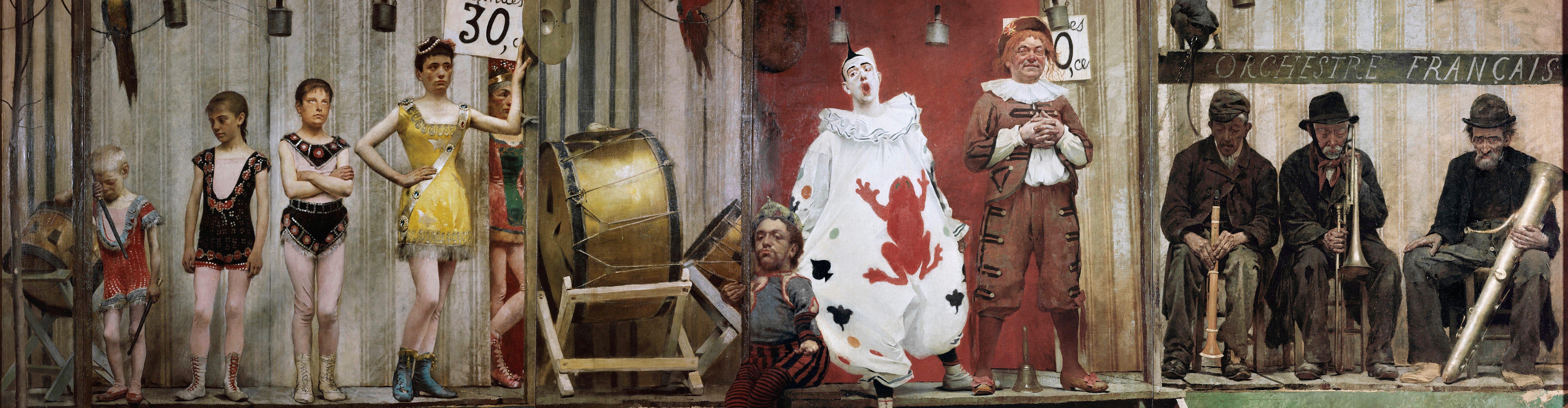 9.-Seurats-Circus-Sideshow_Pelez_Grimaces-and-Misery-The-Saltimbanques_Petit-Palais-Musee-des-Beaux-Arts-de-la-Ville-de-Paris