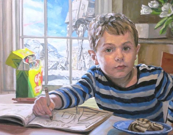 Dean Hartung portraits