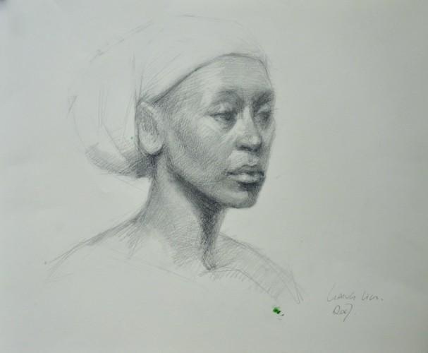 Drawing by Liang Liu