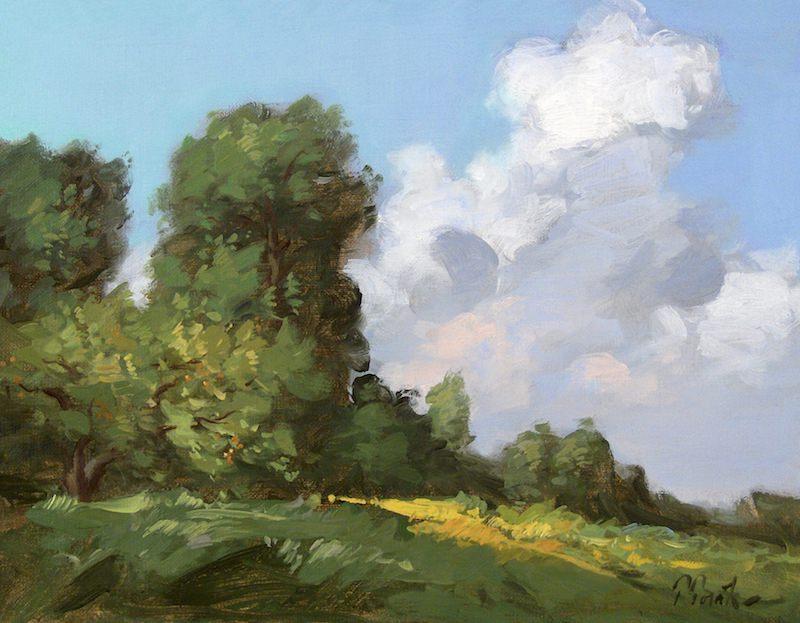 thomas torak landscape painting workshop