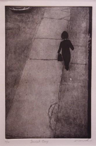 Etching by Natsuko Matsumura