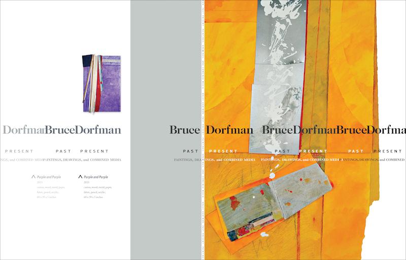 Bruce Dorfman retrospective catalogue