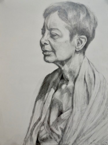 Drawing by Margaret O'Keefe