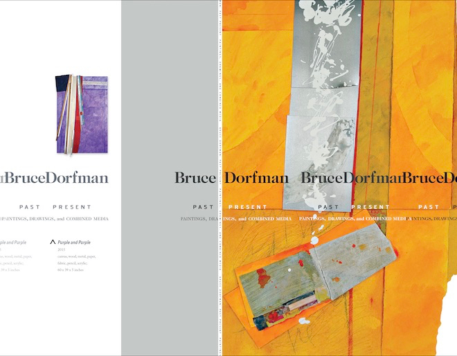 Bruce Dorfman Retrospective Catalogue Receives Award