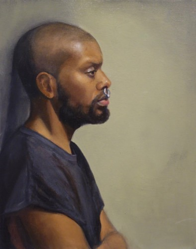 Painting by Eva Shaye