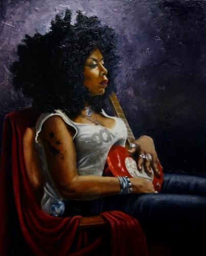 Painting by Katie Karram