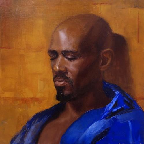 Painting by Noah Jordan