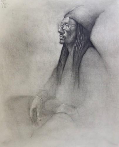 Drawing by Marisa Crawford
