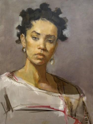Painting by Carol Dakake