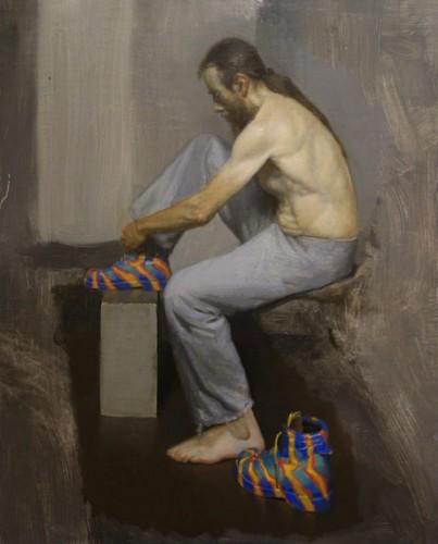 Painting by Robert Esmay