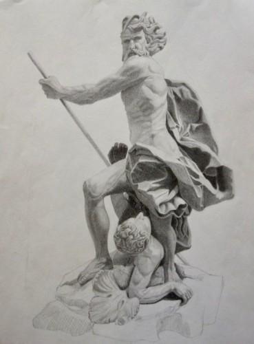 Drawing by Nekia Thomas