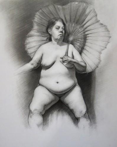 Drawing by Erik Brown
