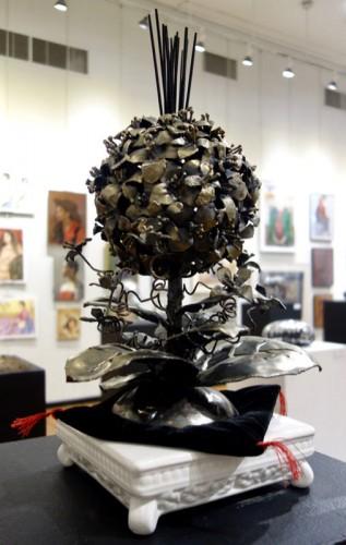 Sculpture by Michiko Yoshida