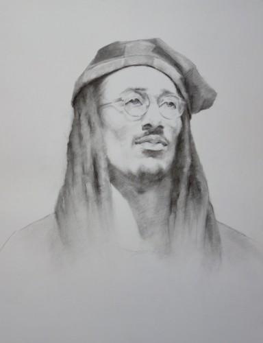 Drawing by Mariana Zanina