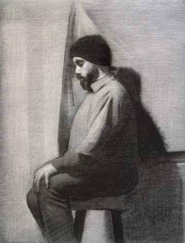 Drawing by Rudyard Tatarinov